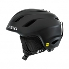 Giro Nine Jr MIPS Kids Ski Helmet in Matte Black