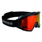 Indigo Edge Polarized Photochromatic Snow Goggle in Black