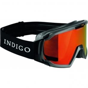 Indigo Edge Polarized Photochromatic Snow Goggle in Titan