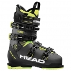 Head Advant Edge 105 Mens Ski Boot in Anthracite in Black