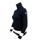 Fusalp Ubac Roll Neck Womens Midlayer in Navy
