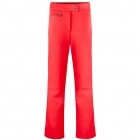 Poivre Blanc Womens Softshell Fitted Ski Pant in Scarlet Red