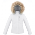 Poivre Blanc Ada Girls Ski Jacket in White