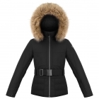 Poivre Blanc Amanda Girls Ski Jacket in Black