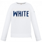 Poivre Blanc Girls Fleece Sweater in White