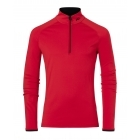 Kjus Feel 1/2 Mens Baselayer in Scarlet
