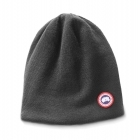 Canada Goose Standard Toque Mens Hat in Iron Grey