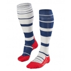 Falke SK4 Stripe Mens Ski Socks in Royal Blue