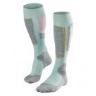 Falke SK1 Womens Ski Socks in Austerity