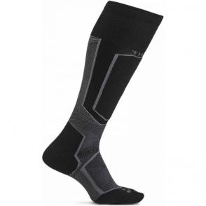 Thorlos XSKI Extreme Ski Sock In Steele Raven