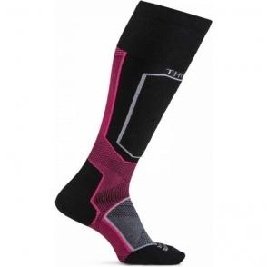 Thorlos XSKI Extreme Ski Sock In Daring Raven