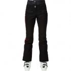 Rossignol JCC Yurok Womens Ski Pant in Black with Red Stripe