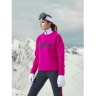 Goldbergh Amore Womens Apres Sweater in Wow Pink