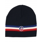 Fusalp Wengen Mens Hat With Stripe in Navy