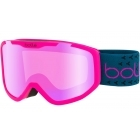 Bolle Rocket Plus Jr Ski Goggle Matte Pink and Blue With Rose Gold Lens