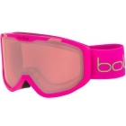 Bolle Rocket Jr Ski Goggle Matte Pink Bear With Vermillon Lens