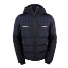 Fusalp Altus Mens Ski Jacket in Navy with Black