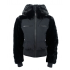 Fusalp Chesery Faux Fur Womens Ski Jacket in Black