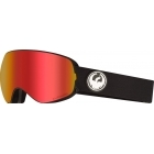 Dragon X2s Ski Goggle in Black with Lumalens Red Ion and LL Rose