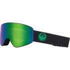 Dragon PXV Split Ski Goggle with LumaLens Green Ion and LL Amber