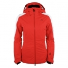 Kjus Formula Womens Ski Jacket in Fiery Red