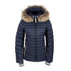 Bogner Nasha D Womens Ski Jacket in Navy