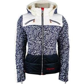 Almgwand Salzkofel OP Womens Ski Jacket in Marine