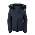Poivre Blanc Stretch Womens Ski Jacket in Gothic Blue