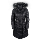 Povire Blanc Ava Womens Winter Coat in Black