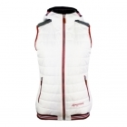 Almgwand Gasselhohe Womens Vest in Offwhite and Grey