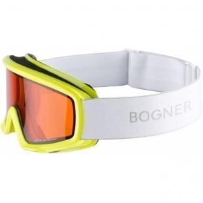 Bogner Snow Goggles Junior In Yellow