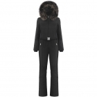 Beatrice One Piece Ski Suit In Black