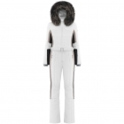 Beatrice One Piece Ski Suit In White Multi