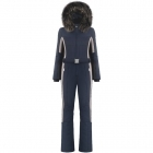 Beatrice One Piece Ski Suit In Gothic Blue Multi