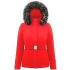Beth Womens Jacket in Scarlet Red