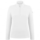 Babette Womens Fleece Midlayer in White