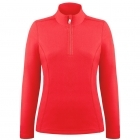 Babette Womens Fleece Midlayer in Scarlet Red