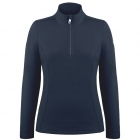 Babette Womens Fleece Midlayer in Gothic Blue
