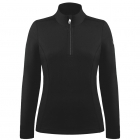 Babette Womens Fleece Midlayer in Black