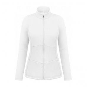 Blair Womens Stretch Fleece Midlayer in White