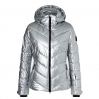 Bogner Sassy 2 Womens Jacket in Shiny Silver