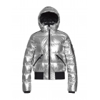 Aura Womens Jacket in Silver