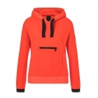 Bette Womens Hooded Top in Orange