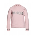 Oh Dear Womens Sweater in Powder Pink