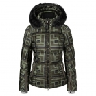 Sanne D Womens Jacket in Khaki Green
