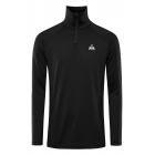 Jaden Mens Baselayer Top in Black