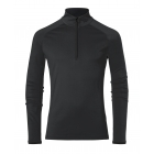 Feel Half Zip Mens Baselayer in Black