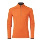 Feel Half Zip Mens Baselayer in Kjus Orange