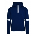 Logo Hood Tech Sweat Midlayer in JL Navy