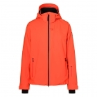 Eagle Mens Jacket in Bright Orange